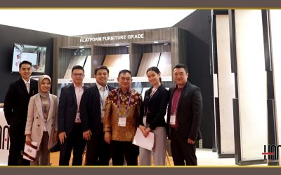 Launching Produk Hana Plywood pada IFMAC 2019 Jakarta